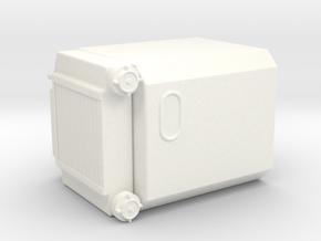 THM 00.0707 Bulk compressor left in White Processed Versatile Plastic