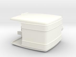 THM 00.2102-034 Fuel tank Tamiya MAN in White Processed Versatile Plastic