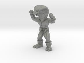 """Sahak - 1.75"""" Figurine, multi-color in Gray PA12: d4"""