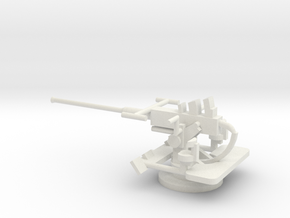 1/72 Scale 40mm Bofor Mk3 in White Natural Versatile Plastic