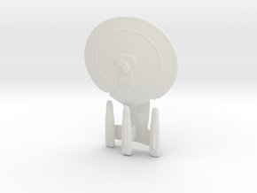 3 Nacelle Galaxy Class in White Natural Versatile Plastic