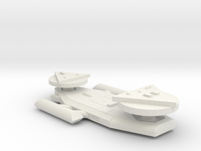 3788 Scale Worb Medium Destroyer MGL in White Natural Versatile Plastic