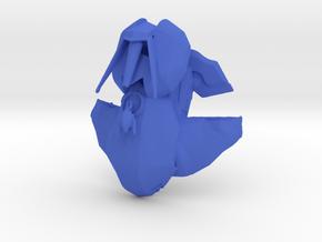 Alien Hover Tank  in Blue Processed Versatile Plastic: 6mm