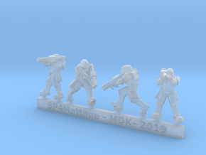 Scifi Marine Anti-Tank Force Sprue in Smooth Fine Detail Plastic: 6mm