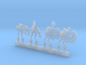 Lite Melee Force sprue in Smooth Fine Detail Plastic: 6mm