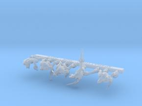 Alien Leaders Sprue in Smooth Fine Detail Plastic: 6mm