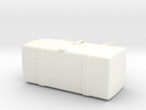THM 00.2102-110 Fuel tank Tamiya MAN in White Processed Versatile Plastic