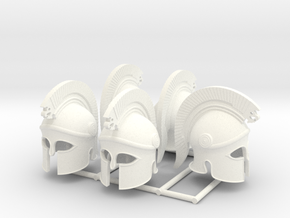 HOPLITE HELMET 20 X5  in White Processed Versatile Plastic