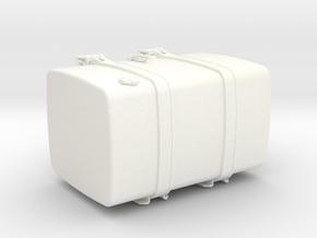 THM 00.5102-080 Fuel tank Tamiya Volvo FH12 in White Processed Versatile Plastic