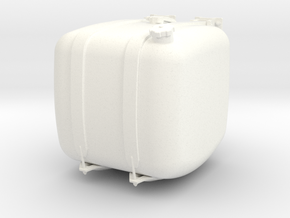 THM 00.3102-050-L Fuel tank Tamiya Actros in White Processed Versatile Plastic