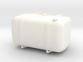 THM 00.3102-088 Fuel tank Tamiya Actros in White Processed Versatile Plastic