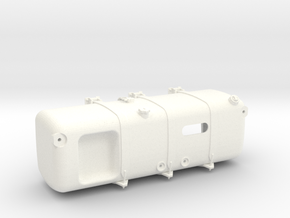 THM 00.3109-TL Fuel tank left Tamiya Actros in White Processed Versatile Plastic