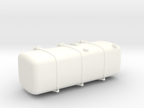 THM 00.3163-150 Fuel tank Tamiya Actros in White Processed Versatile Plastic