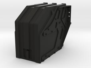 THM 00.3801 Battery box Tamiya Actros in Black Natural Versatile Plastic