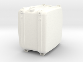 THM 00.4102-042 Fuel tank Tamiya Scania in White Processed Versatile Plastic