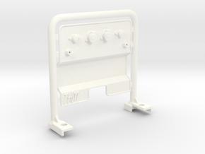 THM 01.0021 Air hose bar in White Processed Versatile Plastic