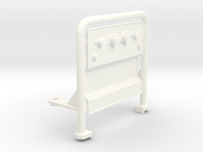 THM 01.0022 Air hose bar in White Processed Versatile Plastic