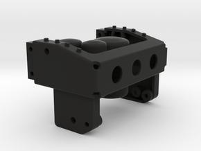 THM 01.2402 Frame rear beam Tamiya MAN 4x2 in Black Natural Versatile Plastic