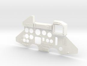 SUKHOI SU27 (CARF MODELS) COCKPIT (L) in White Processed Versatile Plastic