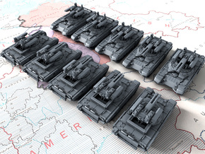 1/600 Russian BMPT-72 Terminator 2 AFV x10 in Smoothest Fine Detail Plastic
