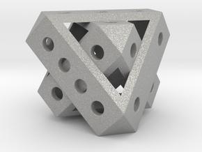 Duo-Tet Mega (metal) in Aluminum