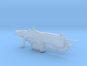 COG Assault Rifle (1:18 Scale) in Smooth Fine Detail Plastic