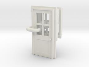 sittingbourne door and windows OO Scale in White Natural Versatile Plastic