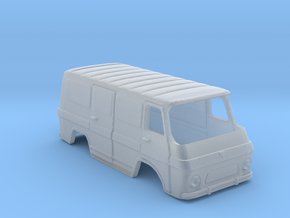 Rocar TV 12 Transporter Body-Scale 1:160 in Smooth Fine Detail Plastic