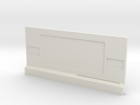 HO Command Wall in White Natural Versatile Plastic