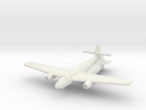 (1:144) Fieseler Fi 166 Höhenjäger II in White Natural Versatile Plastic