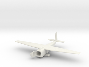 1/300  Hamilcar Glider on the Ground in White Natural Versatile Plastic