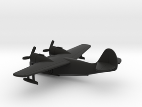 Grumman G-21 Goose in Black Natural Versatile Plastic: 1:200