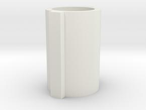 """Atlas/Craftsman 6"""" Lathe Bushing (same as M6-70) in White Natural Versatile Plastic"""