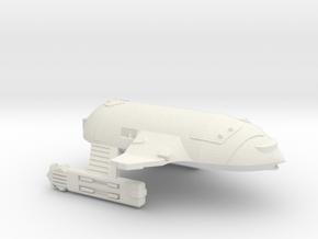 3788 Scale WYN Orca War Cruiser (CW) CVN in White Natural Versatile Plastic