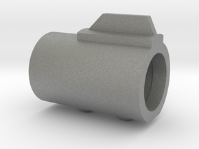 SOLO Bull Barrel (w/ screw details) in Gray Professional Plastic