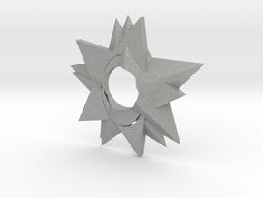 Ninja Star in Aluminum