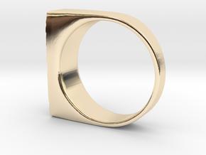 Moonwalk Ring  in 14K Yellow Gold: 7 / 54