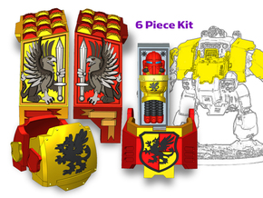 Howling Griffons: Redem Full Kit in Smooth Fine Detail Plastic