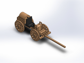 ARTILLERY LIMBER FORGE in White Natural Versatile Plastic