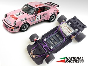 3D Chassis - FLY Porsche 911-934 (SW/Inline) in Black Natural Versatile Plastic