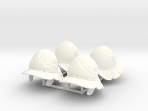 BEOTIAN HELMET 4 x4 in White Processed Versatile Plastic