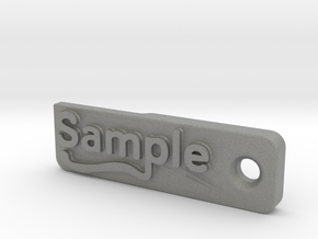 Material Sample - Sample Stand (ALL MATERIALS) in Gray PA12