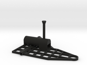 Steam Combine Frame in Black Natural Versatile Plastic
