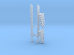 Transformers WFC Siege Sideswipe Swords in Smooth Fine Detail Plastic