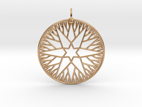 Rootstar Pendant in Polished Bronze