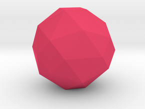 geommatrix 72mm f54 polyhedron in Pink Processed Versatile Plastic