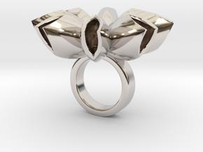 Spritlo small - Bjou Designs in Rhodium Plated Brass