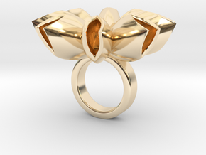 Spritlo small - Bjou Designs in 14k Gold Plated Brass
