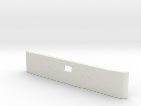 1/24 Peterbilt 379 Front Bumper for italeri kit in White Natural Versatile Plastic: 1:24