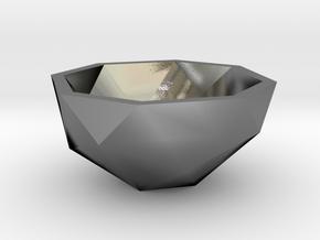 geommatrix semi f54   in Polished Silver